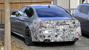 BMW M5 facelift - spyshot 9
