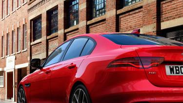 Jaguar XE - rear profile