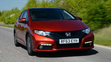 Honda Civic 2014 front tracking