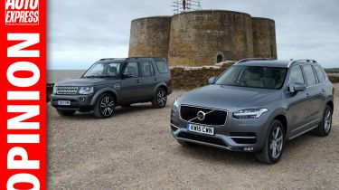 Opinion Volvo XC90 vs Land Rover Discovery