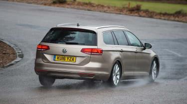Volkswagen Passat Estate long-term final report - rear cornering