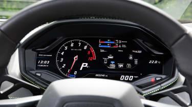 New Lamborghini Huracan dials