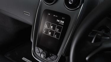 McLaren 540C - screen