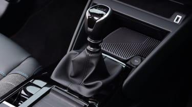 Citroen C4 - gear lever