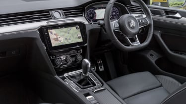 Volkswagen Arteon review - front interior