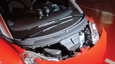 Smart ForTwo Cabriolet engine