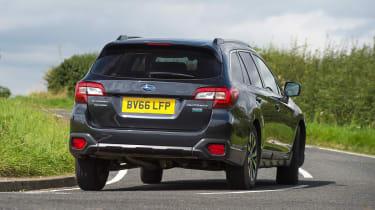 Subaru Outback - long term test final report rear