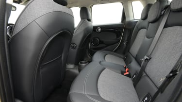 MINI One 5-door - rear seats