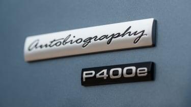 Range Rover PHEV - P400e badge