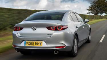 Mazda 3 saloon - rear tracking