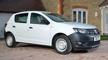 Dacia Sandero, the UK's most affordable new car