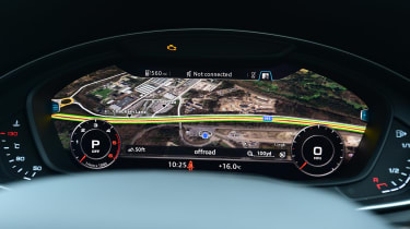 Audi Virtual Cockpit - Google Maps