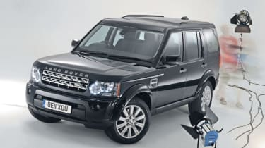 Best Large SUV: Land Rover Discovery 4