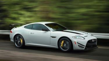 Jaguar XKR-S GT action