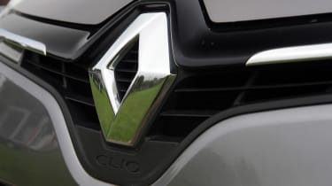 Used Renault Clio - Renault badge
