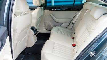 Skoda Superb interior rear