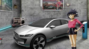 Jaguar Land Rover Gorillaz
