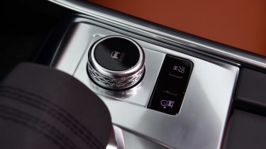 Jaguar XF facelift - drive mode