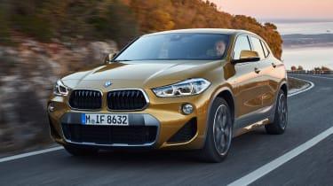 2018 BMW X2 - front