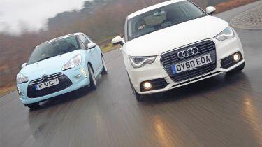 Audi A1 vs Citroen DS3