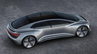 Audi Aicon concept - above