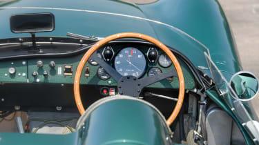 Aston Martin DBR1 - Cockpit