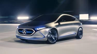 Mercedes EQA concept - front cornering
