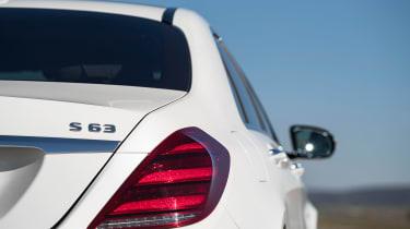 Mercedes-AMG S 63 - S 63 badge