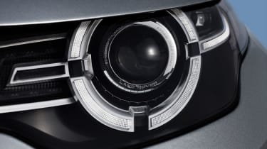 Land Rover Discovery Sport lights