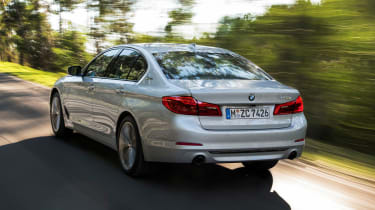 BMW 530e 2017 rear side