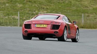 R8 rear