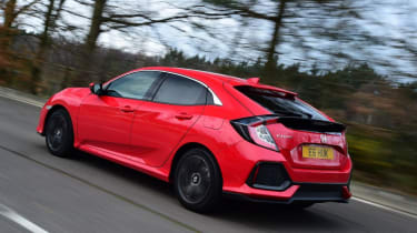 Honda Civic 1.0 - rear