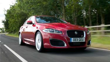 Jaguar XFR front tracking