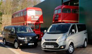 Ford Tourneo vs Volkswagen Caravelle