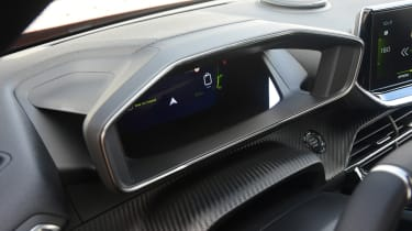 Peugeot 2008 - instrument binnacle