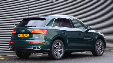 Audi Q5 PHEV long-termer - first report rear static