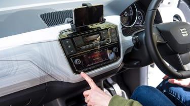 SEAT Mii electric - long termer final report interior