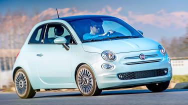 Fiat 500 Mild Hybrid - front cornering