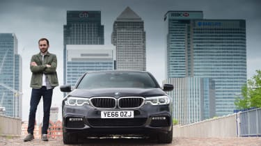 BMW 5 Series long termer - first report Johnny Burn