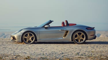 Porsche Boxster 25 Years - side