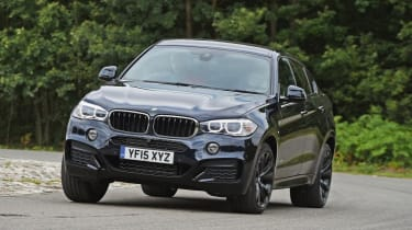 Used BMW X6 - front cornering
