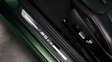 BMW M5 CS - studio sill