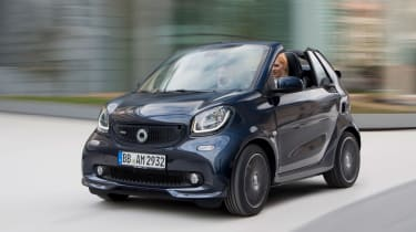 Smart ForTwo and ForFour Brabus cabrio front