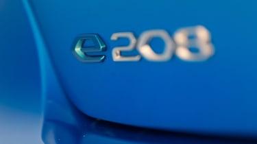 Peugeot e-208 - e-208 badge