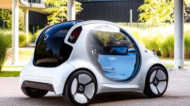 Smart Vision EQ ForFour concept - rear static