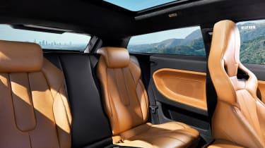 Victoria Beckham Evoque rear seats