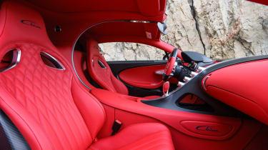 Bugatti Chiron - The Quail interior 2