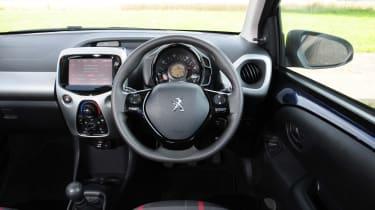 Richard Ingram does using a car infotainment