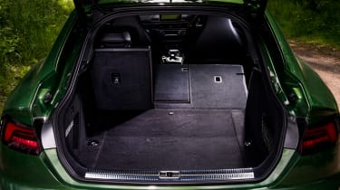 Audi RS 5 Sportback open boot