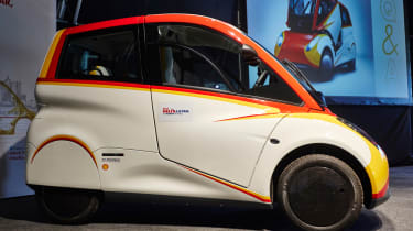 Shell Project M city car - side